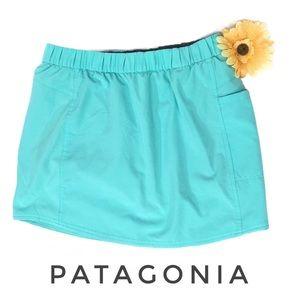 Patagonia mint green skorts